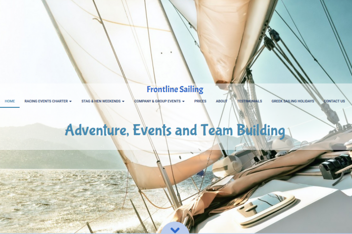 Frontline Sailing Website